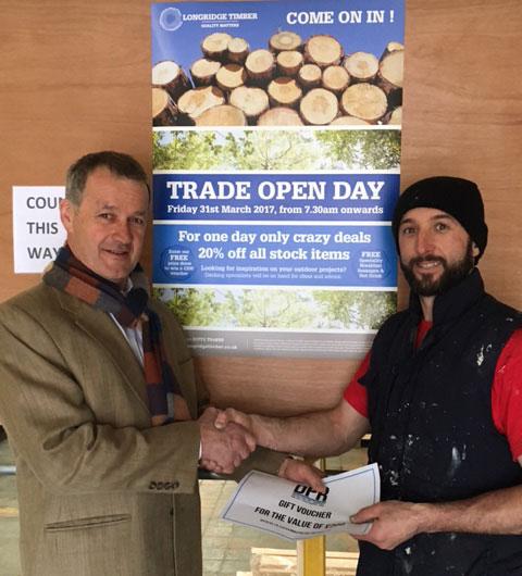 Trade Event Winner Preston