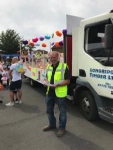 longridge timber longridge field day 2018 & lorry