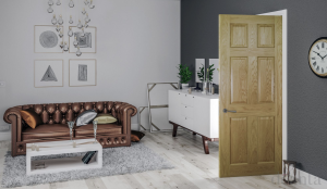oak internal door longridge timber deanta living room