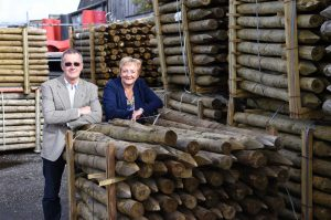 fencing posts treated timber longridge timber john and sue